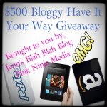 $500 Giveaway – Sign Ups Now Open