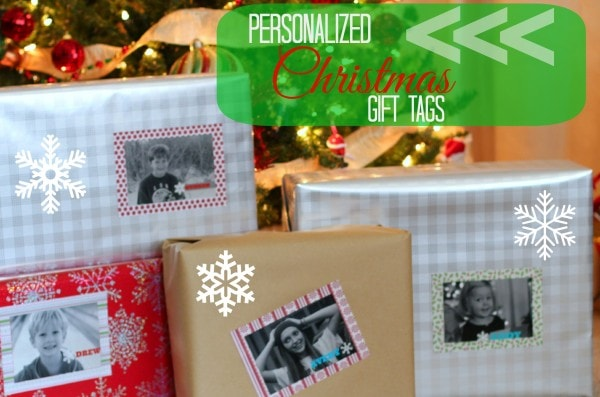 Personalized Christmas Gift Tag for Presents