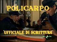 Renato Rascel è Policarpo De' Tappetti nel film di Mario Soldati