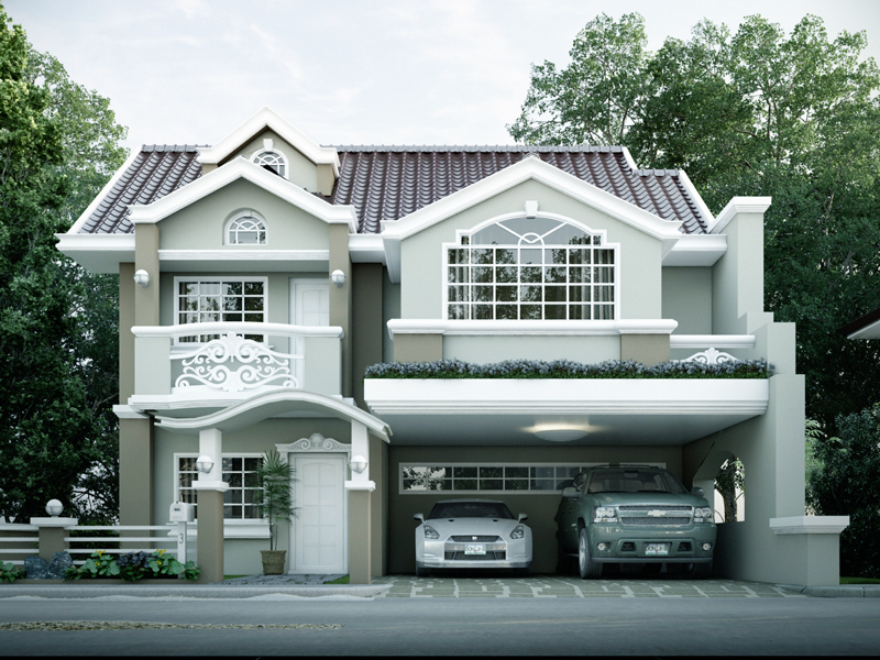 Contemporary house design mhd 2014011 pinoy eplans for House floor plans architecture