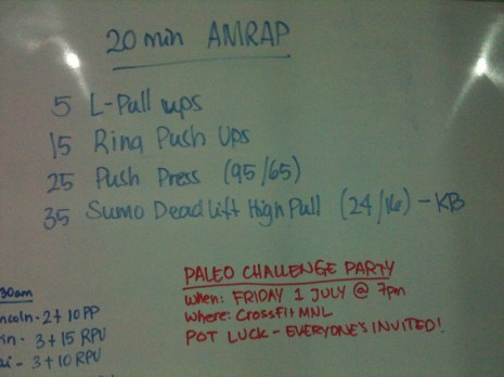 crossfit-WOD