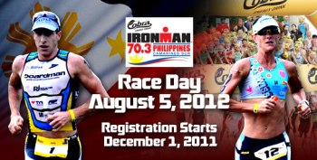 Cobra Ironman 70.3 Philippines 2012 race results and photos