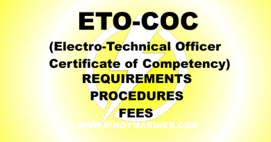 ETO COC Requirements, Procedures, and Fees