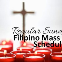 Regular Sunday Filipino Mass (Wellington)