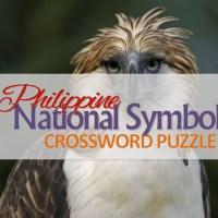 ACTIVITY SHEET: Philippine National Symbols Crossword Puzzle