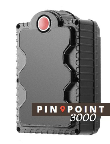 Pinpoint 3000 battery powered gps tracker