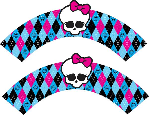 Monster High Argyle Cupcake Wra