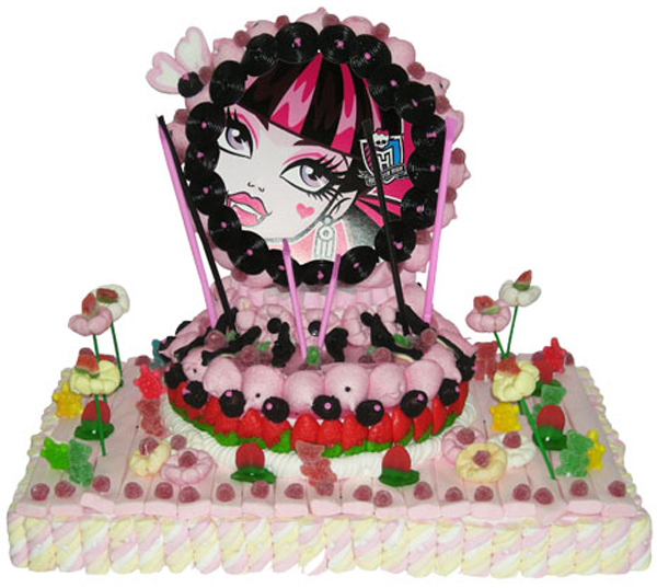 Tarta_de_chuches_Monster_High_josepelluz_PintandoUnaMama