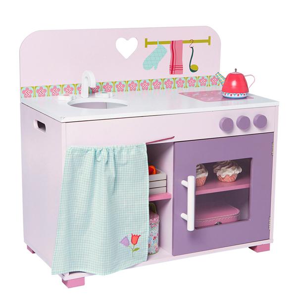 8 cocinitas ideales de juguete para ni as pintando una - Cocina madera imaginarium ...