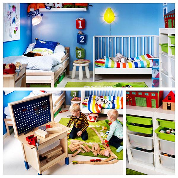 7 habitaciones ideales para ni os de ikea pintando una - Ikea ninos habitaciones ...