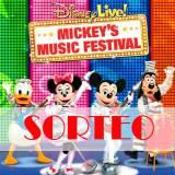 Ganador Sorteo Nueva Gira Disney Live Music Festival
