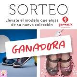 Ganadora Sorteo Zapatos Garvalín