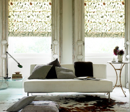 Roller blinds, Natural Curtain Company