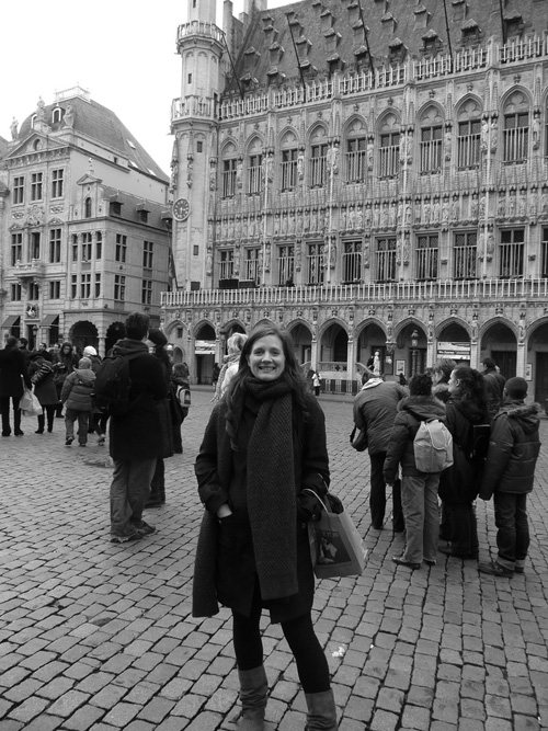 Pippa Jameson in Brussels