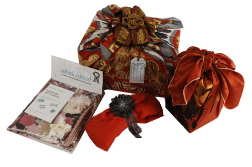 Rethink rubbish, Gift wrapping kit
