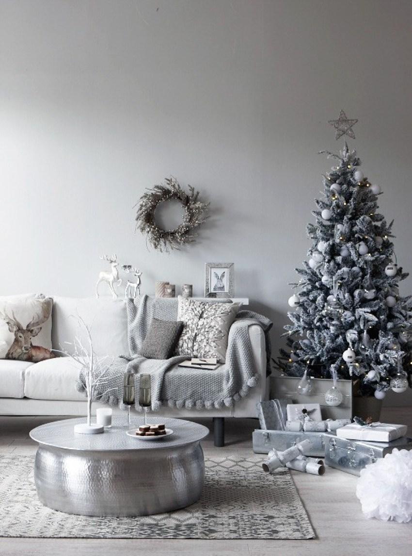 white christmas, Homestyle. Photos Jo Henderson