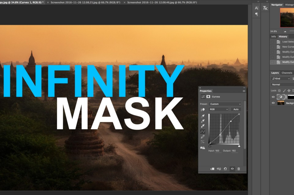 Luminosity Mask Basics ตอนที่ 3: Infinity Mask