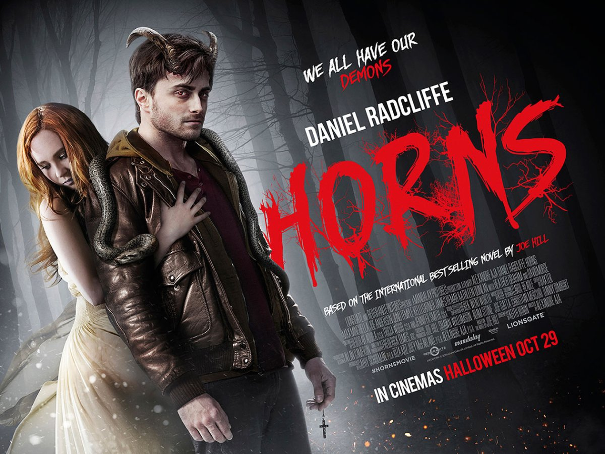 New Trailer and Poster for Horns Featuring Daniel Radcliffe & Juno Temple