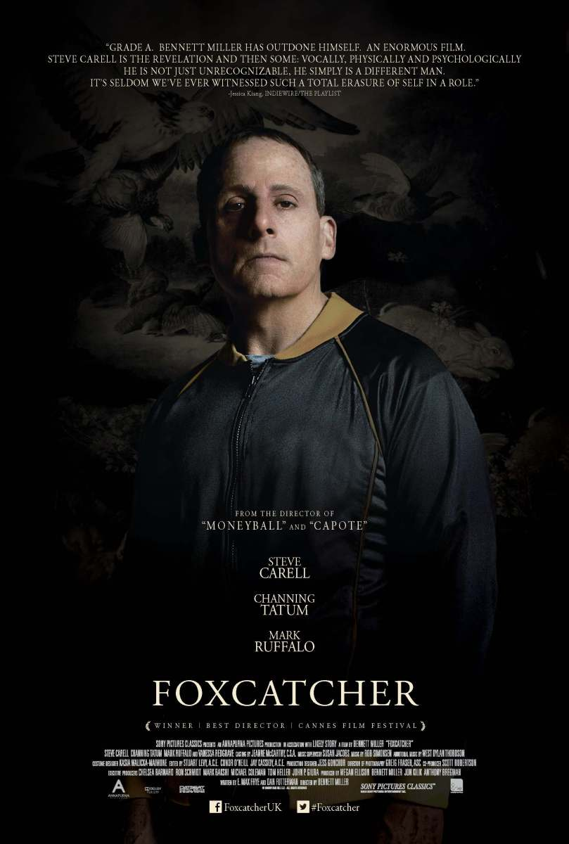 New Intense Teaser for Foxcatcher