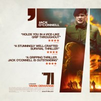 New Poster for '71 Starring Jack O'Connell