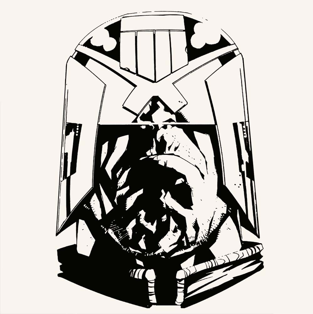 Vice Press Release Jock Limited Edition Judge Dredd Letterpress Set