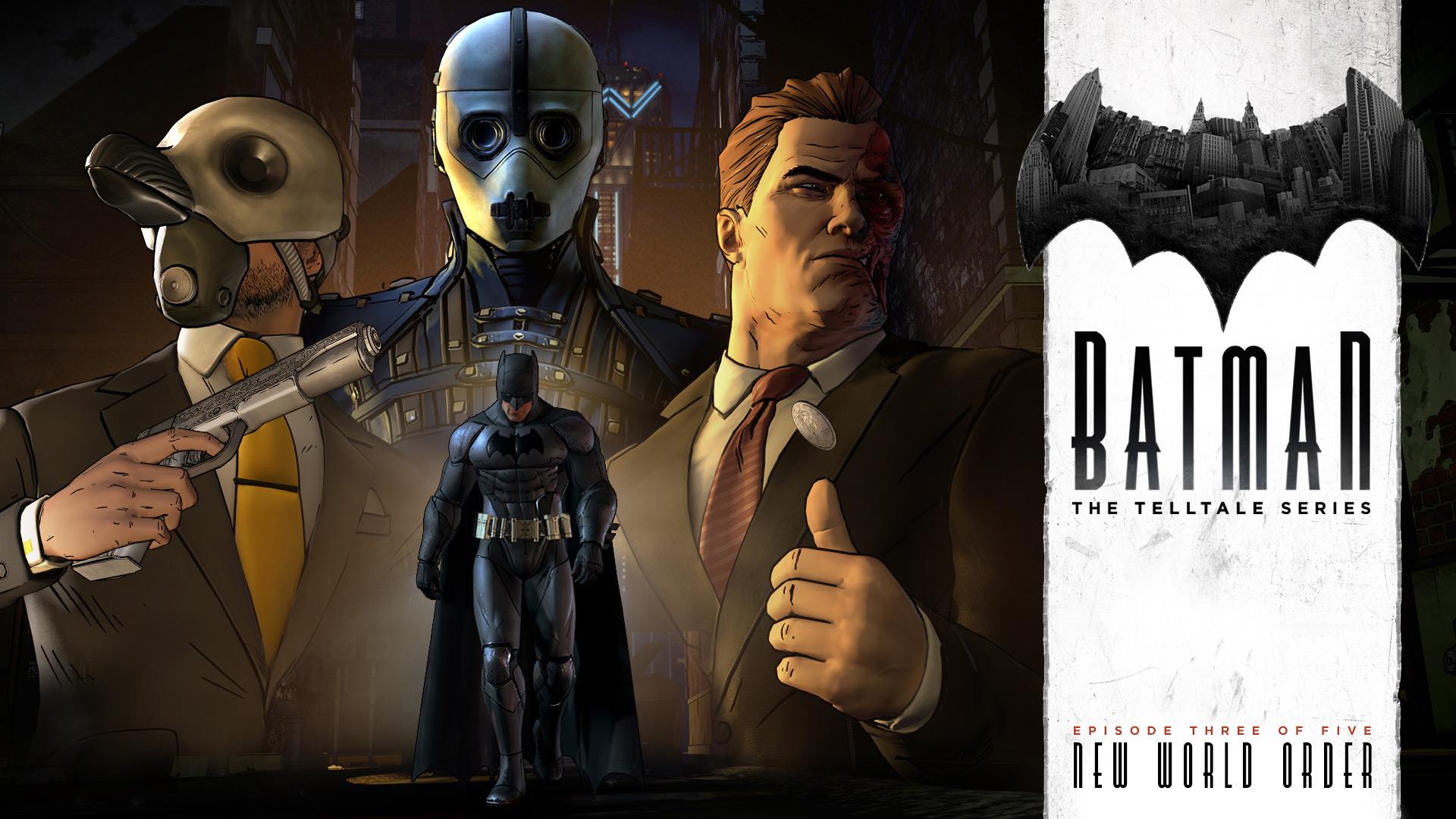 Telltale's Batman Episode 3: New World Order Gets a Trailer