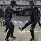 Daniil Kvyat Daniel Ricciardo 2015 US Grand Prix