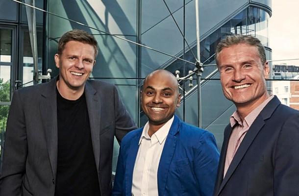 Jake Humphrey, David Coulthard, F1, Channel 4