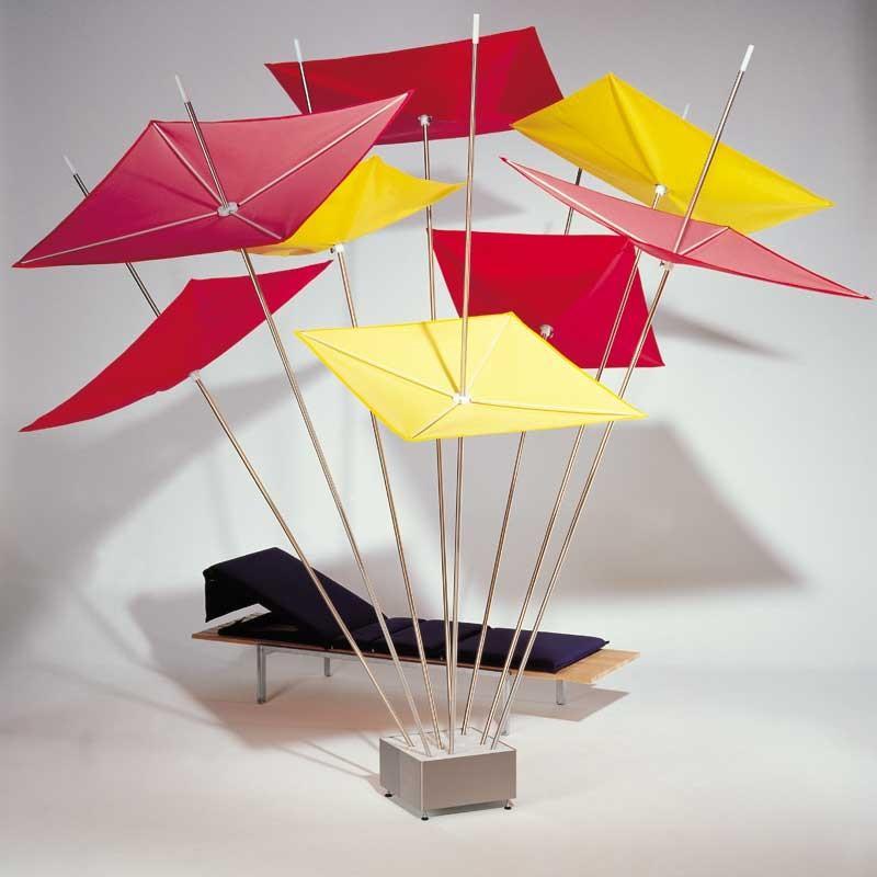 The Modern Flower Pot Garden Umbrella