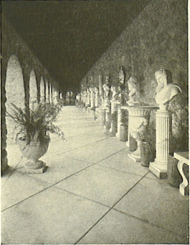 the cloisters at the pergolas garden of clara endicott sears