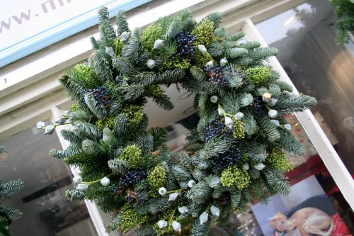 miss pickering blue spruce wreath