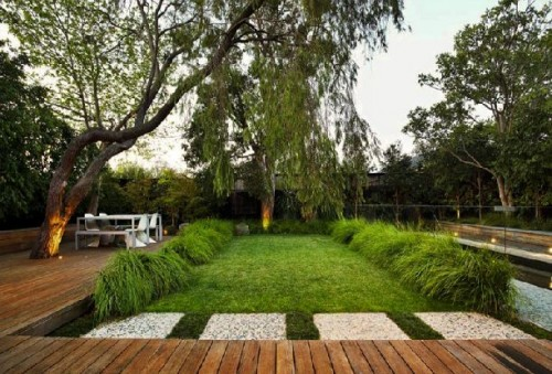 eckersley garden design deck wooden terrace
