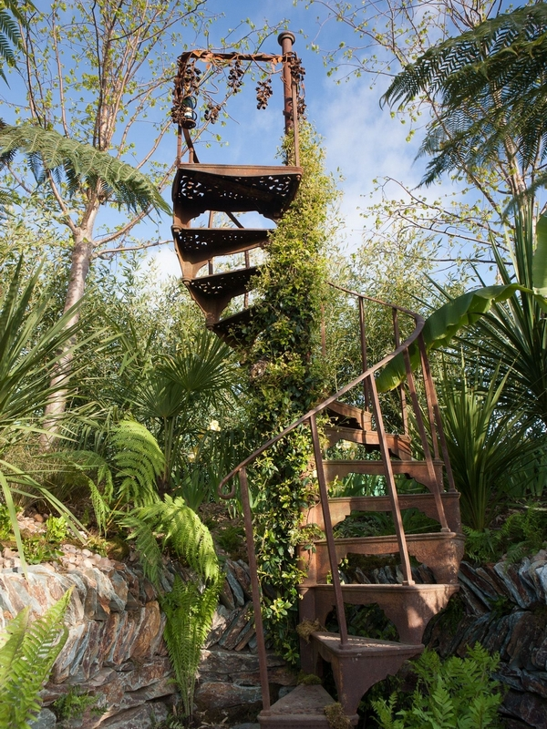 Garden Gallery: Alchemy Gardens' Staircase to Nowhere