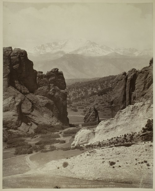 Pike's Peak From the Garden of the Gods, ca. 1880