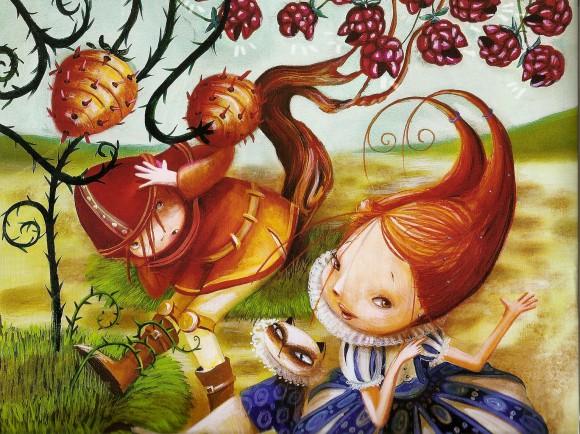 princess amanita's heckleberries dashka slater