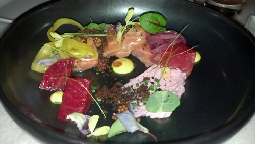 Butcher and the Rye - Salmon Crudo