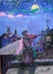 314 - Il Violinista sul tetto 50x70