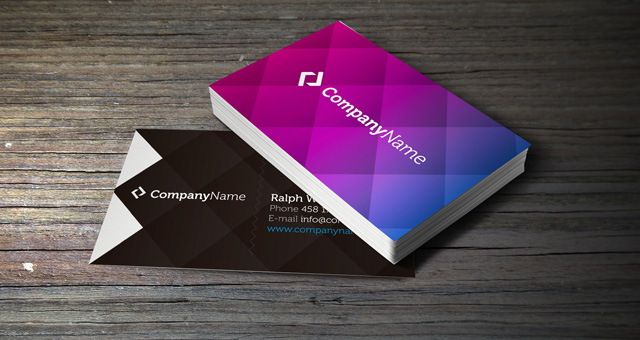 002 corporate business card template vol 1 10 Great Business Card Template Designs | PSD Downloads