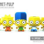 The Simpsons Mini Papercraft Modelle
