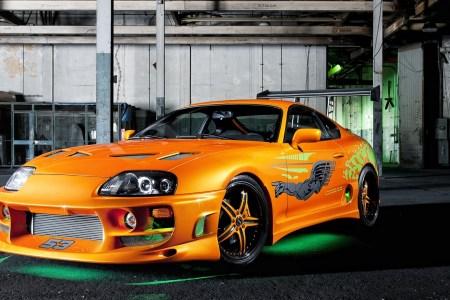 toyota supra fast and furious hd wallpaper