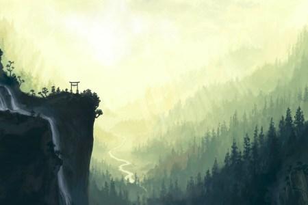 painting art nature wallpapers desktop