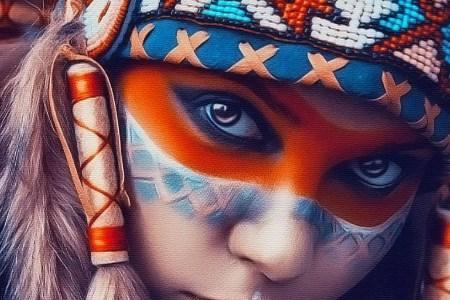 tribal art beauty iphone