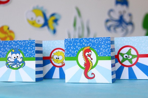 Under the Sea Party by Pixiebear Party Printables