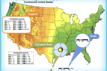 climate maps powerknowledge earth & space science