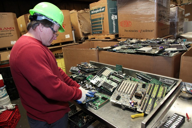 Electronic Scrap Recycling New York