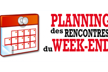 Programme de Week-end : 24 et 25 Novembre 2018