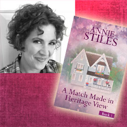 Annie Stiles book tour