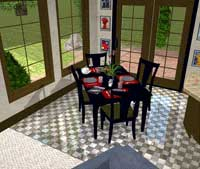 diningRoomblack200 Plan 3D Home Design for Homeowners
