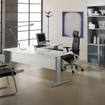Diseño de oficina minimalista