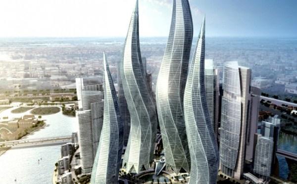 arquitectura moderna - las torres de dubai